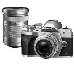 Olympus OM-D E-M10 mark IV Lens Kit zilver