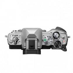 Olympus OM-D E-M10 mark IV  zilver+ 14-42mmEZ + 40-150mm