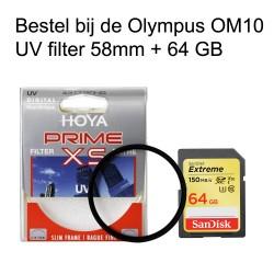 Actie set Olympus OM10