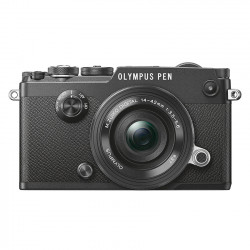 Olympus PEN-F zwart + 14-42mm II