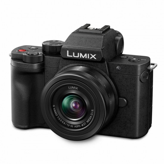 Panasonic Lumix DC-G100 + 12-32mm F/3.5-5.6 + 25mm F/1.7 + tas - Vlogkit