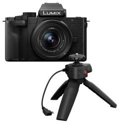 Panasonic Lumix DC-G100 + 12-32mm F/3.5-5.6 + DMW-SHGR1 tripod grip