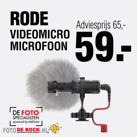 Rode Video microfoon