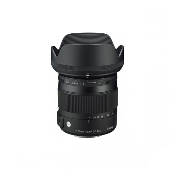 Sigma 17-70mm F2.8-4.0 DC Macro OS Contemporary voor Canon