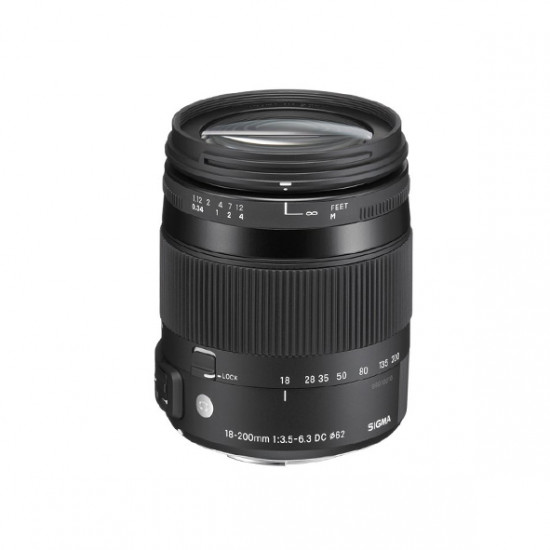 Sigma 18-200mm F3.5-5.6 DC Macro HSM Contemporary voor Canon