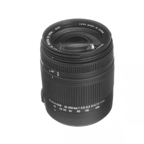 Sigma 18-250mm F3.5-6.3 DC Macro OS HSM voor Canon