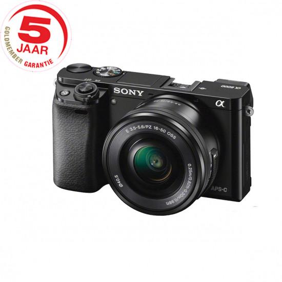 Sony A6000 ICL zwart + 16-50mm zwart