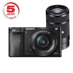 Sony A6000 ICL zwart + 16-50 / 55-210
