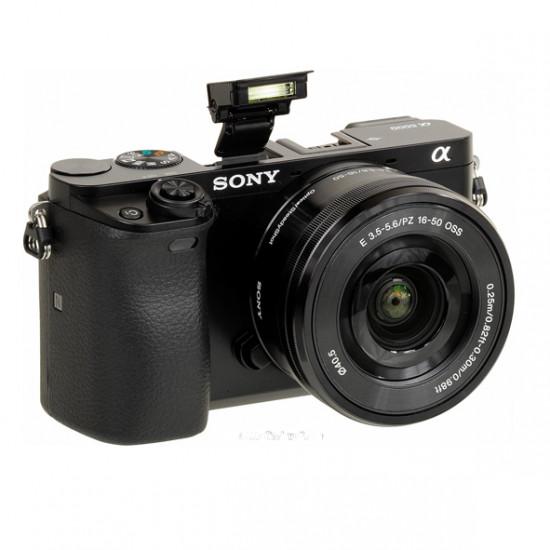 Sony A6000 ICL zwart + 16-50mm zwart - aanbieding