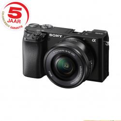 Sony A6100 ICL zwart + 16-50mm zwart
