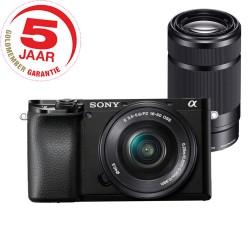 Sony A6100 ICL zwart 16-50mm + 55-210mm