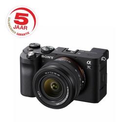 Sony A7C 28-60mm + GRATIS 2e accu t.w. €89,95 - februari aanbieding