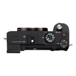 Sony A7C body zwart + gratis vlog grip t.w.v. €199,-
