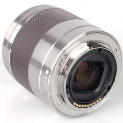 Sony SEL 50 1.8 AE NEX zilver