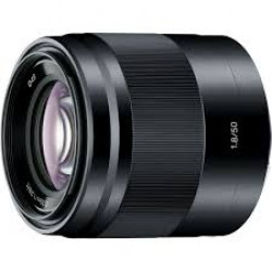 Sony SEL 50 mm F1.8  zwart