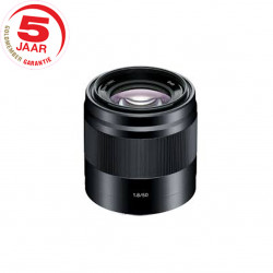Sony SEL 50 mm F1.8  zwart
