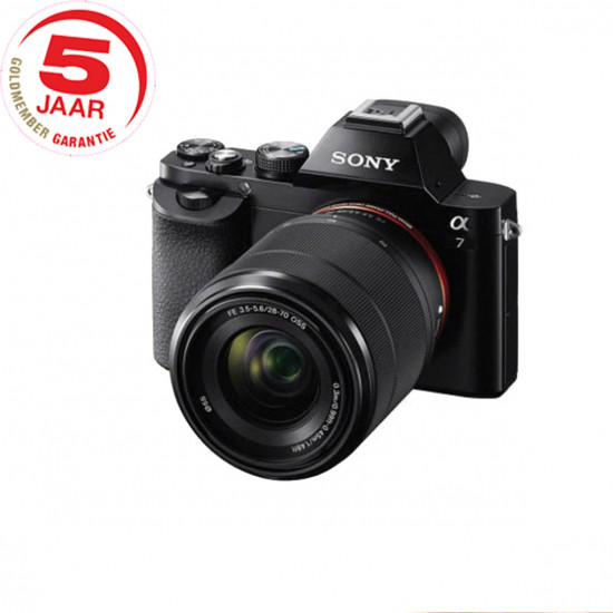 Sony A7 ICLE -7K  zwart + 28-70mm