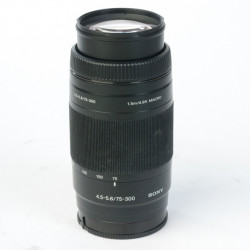 occasion: Sony 75-300 mm A Mount telezoom