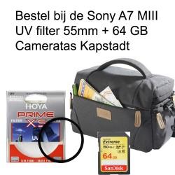 Toebehoren Sony A7 Peter hadley tas