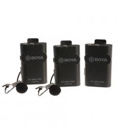 Boya 2.4 GHz Duo Lavalier Microfoon Draadloos BY-WM4 Pro-K2