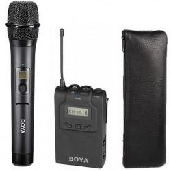 Boya Draadloze Handheld Microfoon BY-WHM8 met Ontvanger