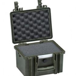 Explorer Cases 2214 Koffer Groen met Plukschuim