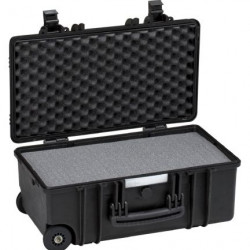 Explorer Cases 5122 Koffer Zwart met Plukschuim