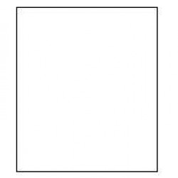 Falcon Eyes Achtergrondpapier 01 Arctic White 2,75 x 11 m