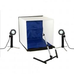 Falcon Eyes Opvouwbare Opnamebox PBK-40AB-2LS 40x40 cm + 2 Lampen