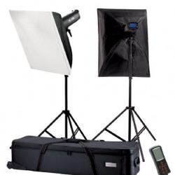 Falcon Eyes Studioflitsset TFK-2600L met LCD Scherm