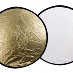 Linkstar Reflectiescherm 2 in 1 R-110GS Goud/Zilver 110 cm
