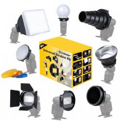 Linkstar Speedlite Camera Flitser Strobist Set SLK-8