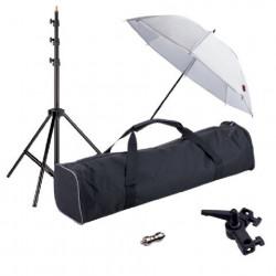 Linkstar Strobist Set met Paraplu UK-84T