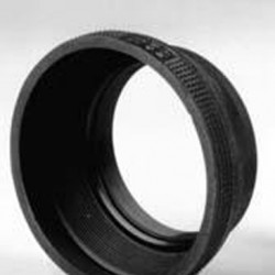 Matin Rubber Zonnekap met Metalen Ring 62 mm M-6220