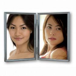 Zep Fotolijst 120DS04-4R Silver 2x 10x15 cm