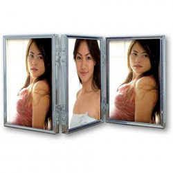 Zep Fotolijst 120TS04-4R Silver 3x 10x15 cm