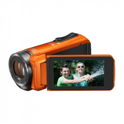 JVC GZ-R315 oranje