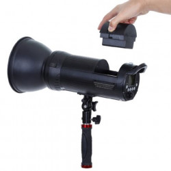 Falcon Eyes TTL Studioflitser Satel Two op Accu voor Canon