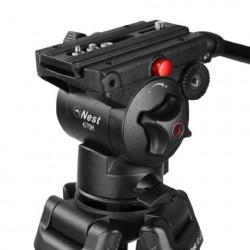 Nest Video Statief NT-670 + Vloeistofgedempte Kop