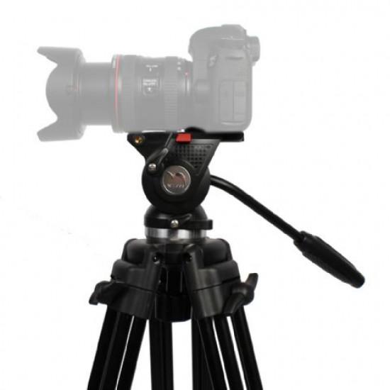 Nest Video Statief NT-777 + Vloeistofgedempte Kop