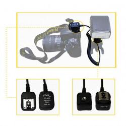 Pixel TTL-kabel FC-312/M 3,6m voor Nikon
