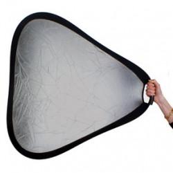 StudioKing Grip Reflector Zilver/Wit CRGSW60 60 cm